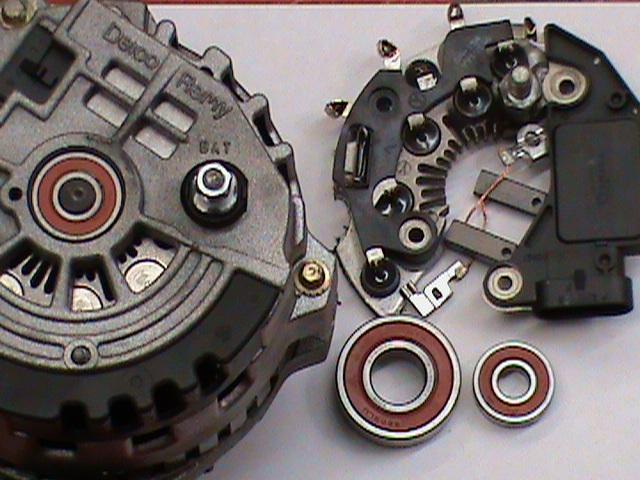 Alternator Repair Kit : Starter rebuild repair kit for buick park ave regal road